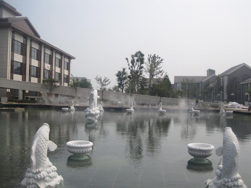 淄博鸿嘉星城喷雾项目